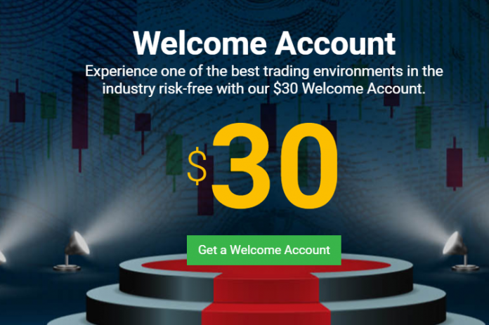 Welcome Account fortfs bonus