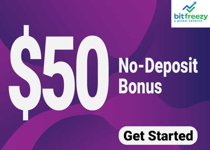 $50 Welcome Bonus With Withdrawable Profit – BitFreezy