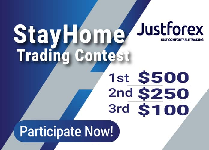 Justforex StayHome Trading Contest
