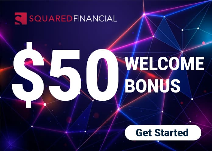 $50 Welcome Gift Bonus Squared Financial