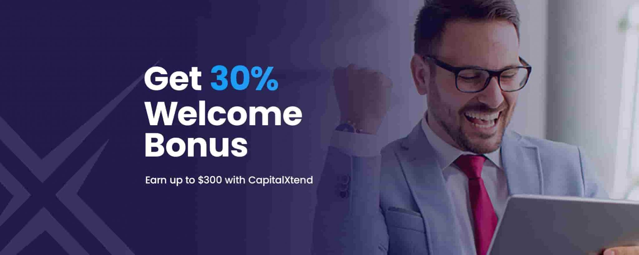 Capitalxtend 30% bonus