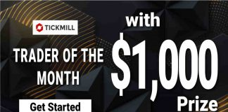 trader of the month by tickmill