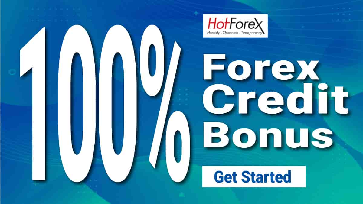 100% Credit Bonus on HotForex