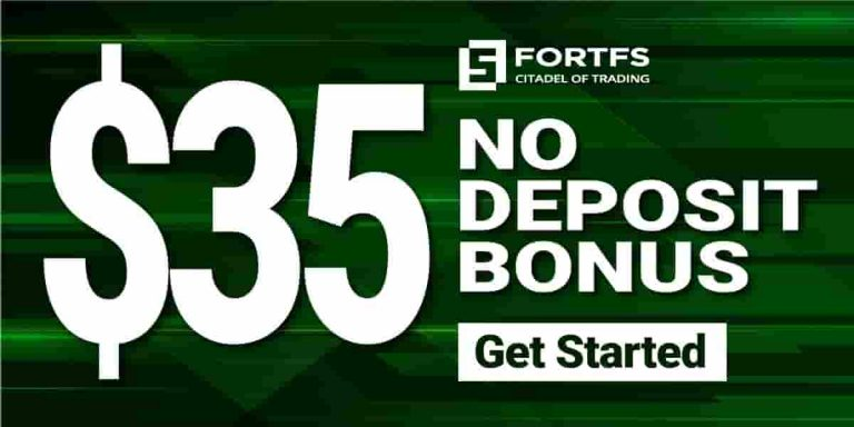 Welcome bonus 35 USD for Live Trading – FortFS