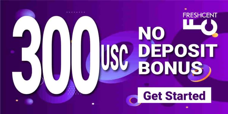 Get Free 300 USC For Registration – FreshForex