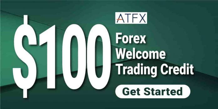 ATFX $100 Welcome Credit