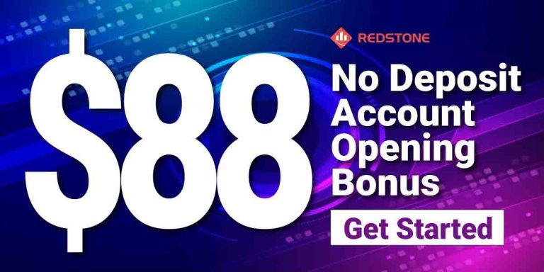 RedstoneFx $88 Forex no deposit welcome bonus