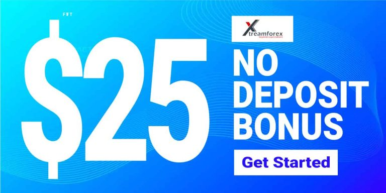 $25 No Deposit Bonus (Welcome) – Xtreamforex