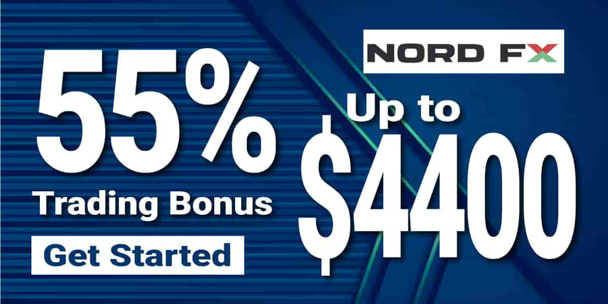55% Deposit Bonus up to $4400