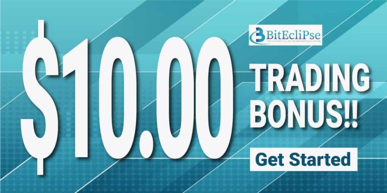 Biteclipse $10 Forex welcome trade campaign