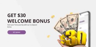 GET $30 WELCOME BONUS