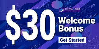 $30 Welcome Bonus