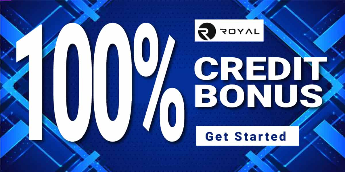 100% royal bonus
