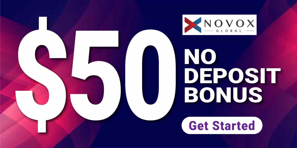NOVOX GLOBAL $50 bonus