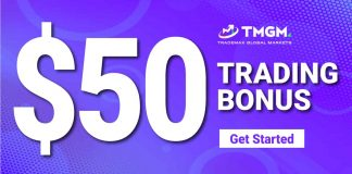 CLAIM YOUR $50 TRADING BONUS